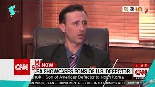 Sons of U.S. defector make propaganda video for N Korea