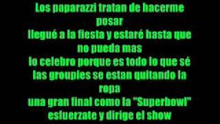 Flo Rida feat David Guetta - club can't handle me (en español)
