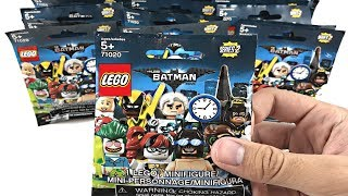 LEGO Batman Minifigures Series 2 - 30 pack opening!
