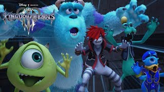KINGDOM HEARTS III – D23 Expo Japan 2018 Monsters, Inc. Trailer [multi-language subs]
