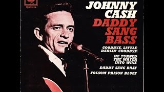 #1 Country Song from Jan. 4th, 1969, Daddy Sang Bass by Johnny Cash, June Cash & Statler Brothers.