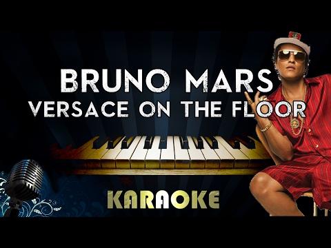 Bruno Mars Versace On The Floor Lower Key Piano