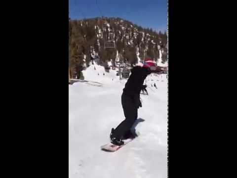 Oran skiing – small jump