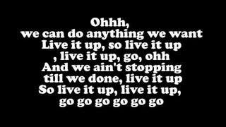 Jennifer Lopez - Live It Up ft. Pitbull (LYRICS)
