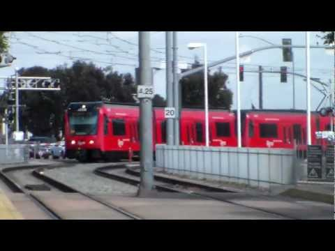 MTS Trolley Green Line at Morena/Linda Vista