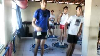 - Academia Water Center galera da Musculação no JUMP. [parte 2] Musica KUDURO ;;