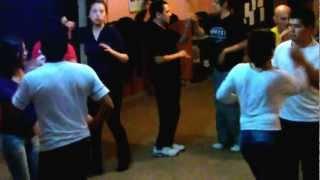 """Ensayo rueda de casino (salsa) Tema: Ave Maria Morena ....... """"Baila Conmigo"""""""