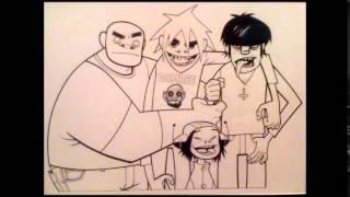 Gorillaz - Latin Simone (Alternative version from Bananaz film)