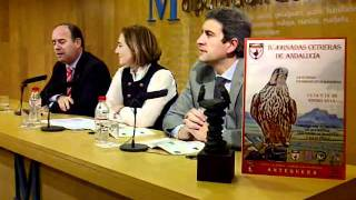 Presentación de las IV Jornadas Cetreras de Andalucía