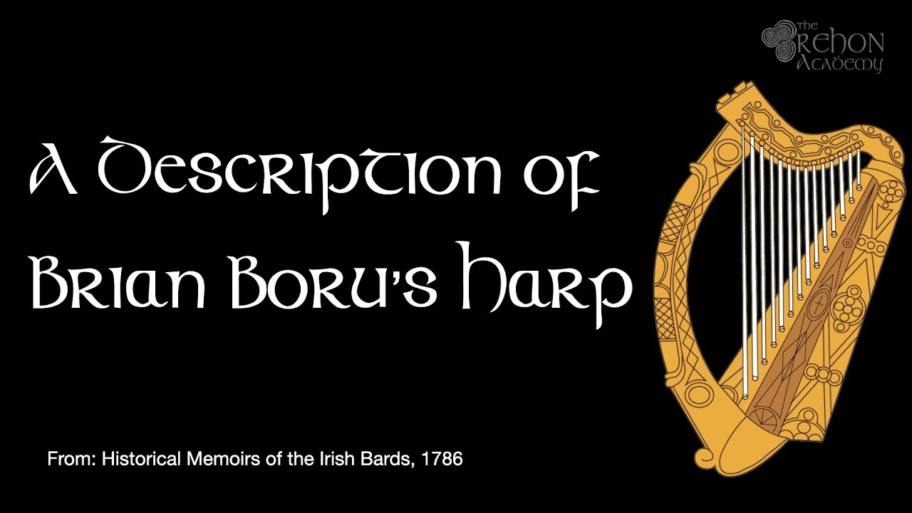 A Description of Brian Boru's Harp