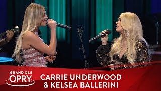 Carrie Underwood & Kelsea Ballerini -
