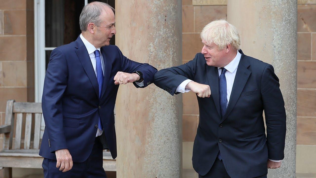 Boris Johnson talks up post-Brexit unity between UK and Ireland