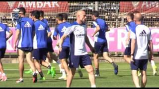 Entrenamiento del primer equipo en la Ciudad Deportiva - 25/5/2017