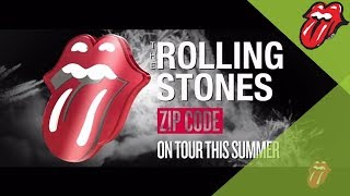 New Rolling Stones tour! ZIP CODE - 15 City North American Stadium dates