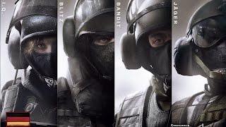 Rainbow Six Siege - GSG 9 Operator Unlock Videos HD