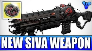Destiny: New Siva Weapon!? The Perfected Predator - My Creation - The Lord Of Wolves Ornament!