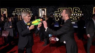 Live from the Red Carpet of 'Star Wars: The Force Awakens'
