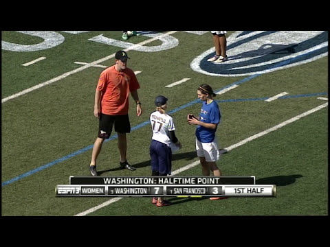 Video Thumbnail: 2013 National Championships, Women's Final: San Francisco Fury vs. Washington D.C. Scandal