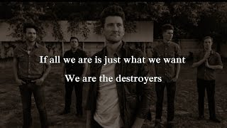 Anberlin - We Are Destroyer (Lyrics)