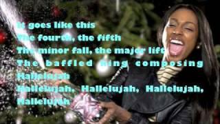 Hallelujah By Alexandra Burke With Lyrics