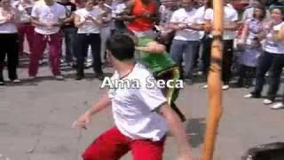 Napoli - Capoeira  Triarte - Roda 2-5-2010 - Ama Seca