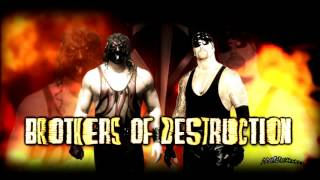 WWE Brothers of Destruction Entrance Theme + Arena Effects
