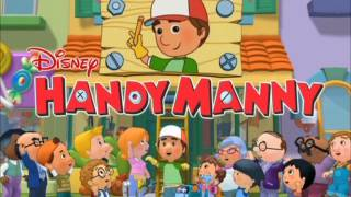 Handy Manny - Green, Green