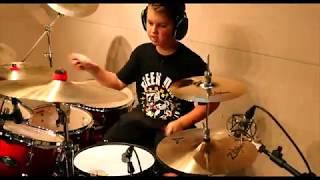 Grant H   Bang Bang by Green Day Drum Cover