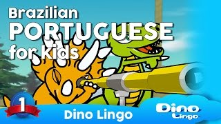Learn Portuguese for kids - Learning Portuguese lessons for children - Brazil Português