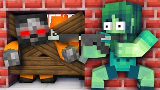 Monster School : GIRL VS ZOMBIE APOCALYPSE CHALLENGE - Funny Minecraft Animation