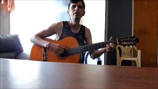 Reykon El chisme guitarra cover