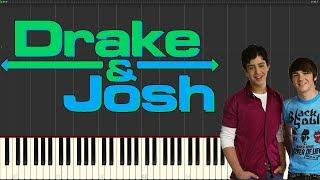 """Drake & Josh Theme """"Found A Way"""" - Piano Tutorial"""
