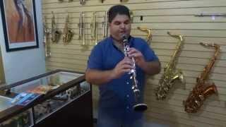 Clarinete Yamaha YCL 62 Vintage
