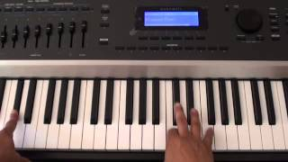 How to play New Flame on piano - Chris Brown ft. Usher, Rick Ross - Piano Tutorial