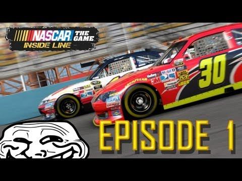 "Trolling NASCAR The Inside Line | Ep. 1 ""Cinema Sherger Peetza"""