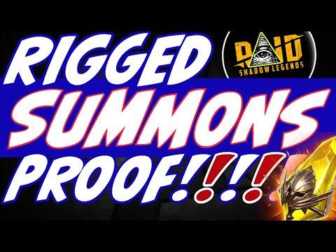 Fusion champions always ^^WARNING^^ Rigged 2x summons | Raid Shadow Legends