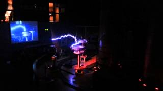 Boston Museum of Science - Lightning Music Star Wars