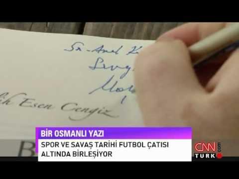Melih Esen Cengiz - Bir Osmanlı Yazı - CNN Türk Röportajı