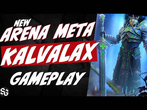 Kalvalax NEW META - New champion guide - RAID SHADOW LEGENDS