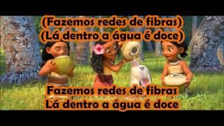 Moana / Vaiana - Where You Are (EU Portuguese) *Lyrics* HD