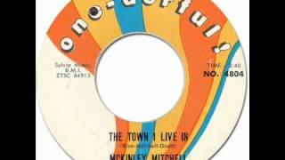 McKinley Mitchell - The Town I Live In [One-Derful #4804] 1962