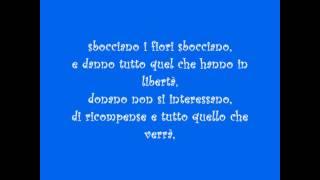 Le tasche piene di sassi (Jovanotti) + Testo