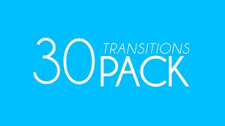 Free 30 Transitions Pack!
