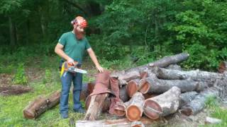 Electric Chainsaw vs Chaps