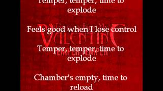 Bullet For My Valentine - Temper Temper (with correct lyrics on screen)