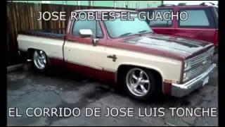 Jose Robles El Guacho - José Luis Tonche (Corrido Oficial)