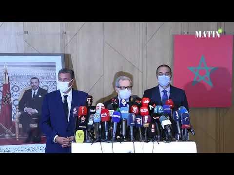 Video : Aziz Akhannouch reçoit les secrétaires généraux du PAM, de l'Istiqlal, de l'USFP, du MP et de l'UC