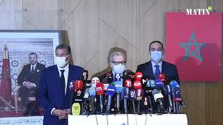 Aziz Akhannouch reçoit les secrétaires généraux du PAM, de l'Istiqlal, de l'USFP, du MP et de l'UC