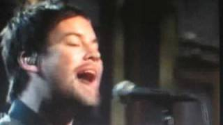 David Cook DECLARATION live on SNL-with Lyrics