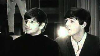 The Beatles interviewed on what they'll be doing at Christmas